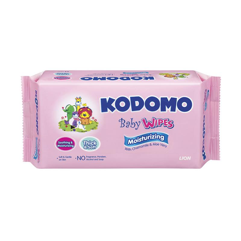 Kodomo Moisturizing Baby Wipes Triple Pack, 3x64pcs