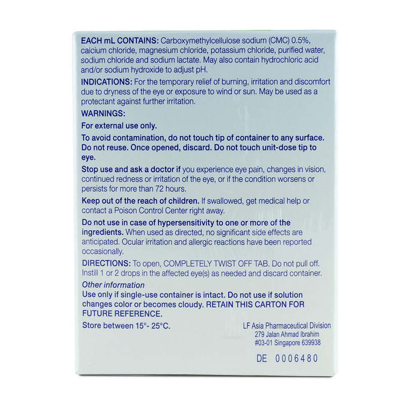 Allergan Refresh Plus Lubricant Eye Drops, 30pcs