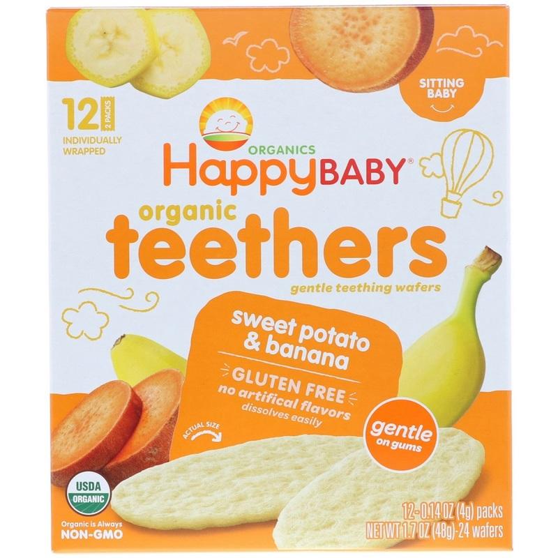Happy Baby Organic Banana Teether-F