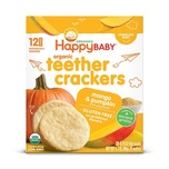 HappyBaby Organic Teething Wafers (Mango & Pumpkin) 4g x12pcs