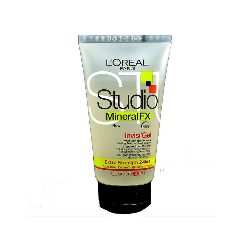 L'Oreal Studio Line Mineral FX Invisi'Gel Extra Strength, 150ml