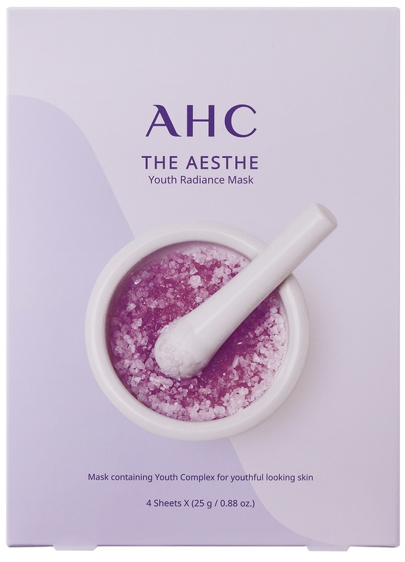AHC Aesthe Youth Mask 4pcs