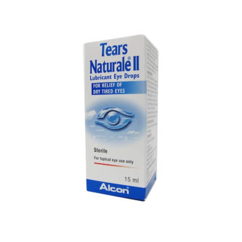 Alcon Tears Natural II Lubricant Eye Drops, 15ml
