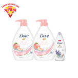 DOVE PEACH BODYWASH 1000G BP