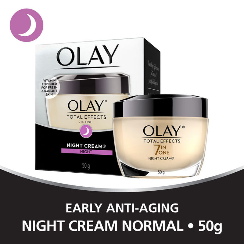Olay Total Effects Night Cream, 50g