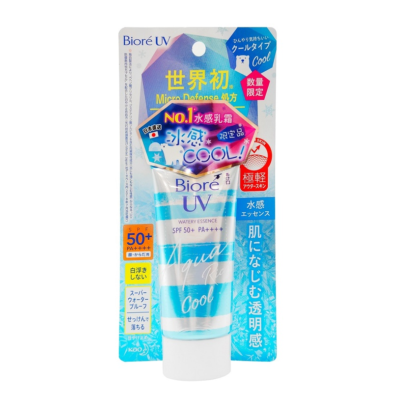 Biore UV Aqua Rich Essence Cool SPF50+ PA++++ 50g