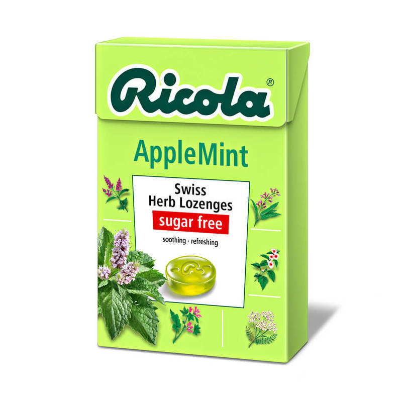 Ricola Swiss Herb Lozenges Apple Mint, 45g