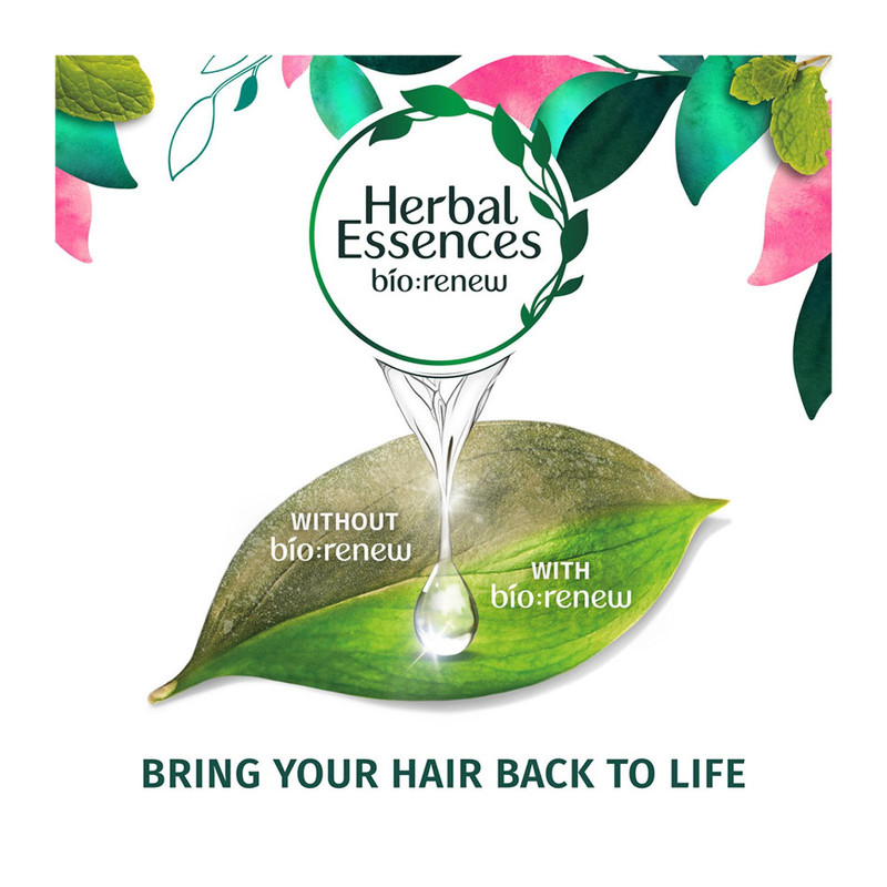 Herbal Essences CLEAN White Strawberry & Mint Shampoo, 400ml
