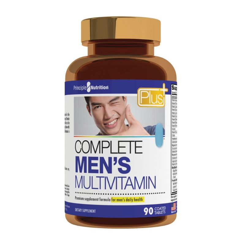Principle Nutrition PNPlus Complete Men's Multivitamins, 90 tablets