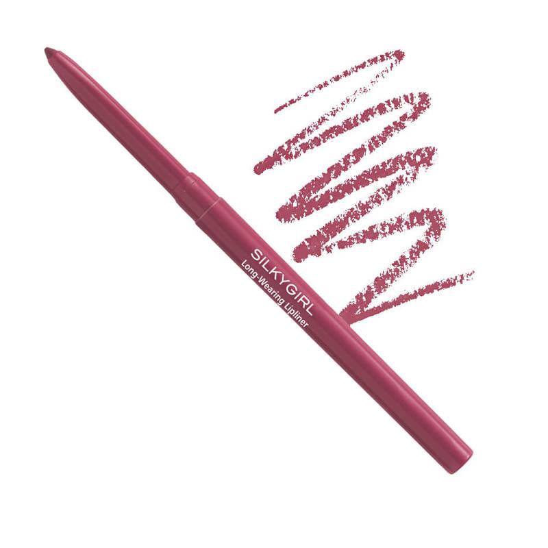 SilkyGirl  Long-Wearing Lipliner -03 Rose 0.25g