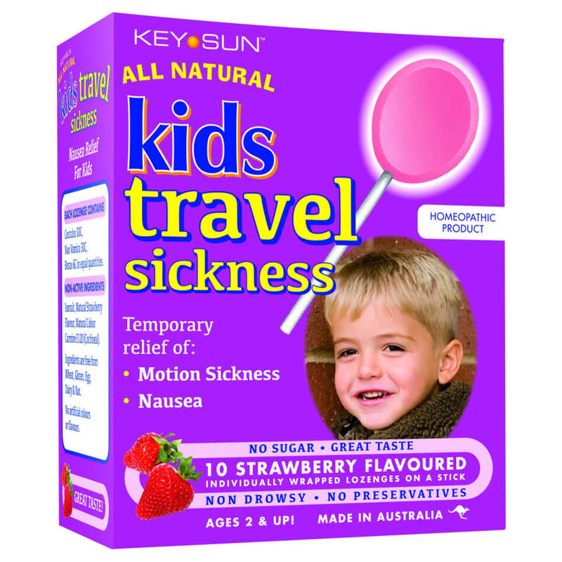 All Natural Kids Travel Sickness Lozenges, 10pcs