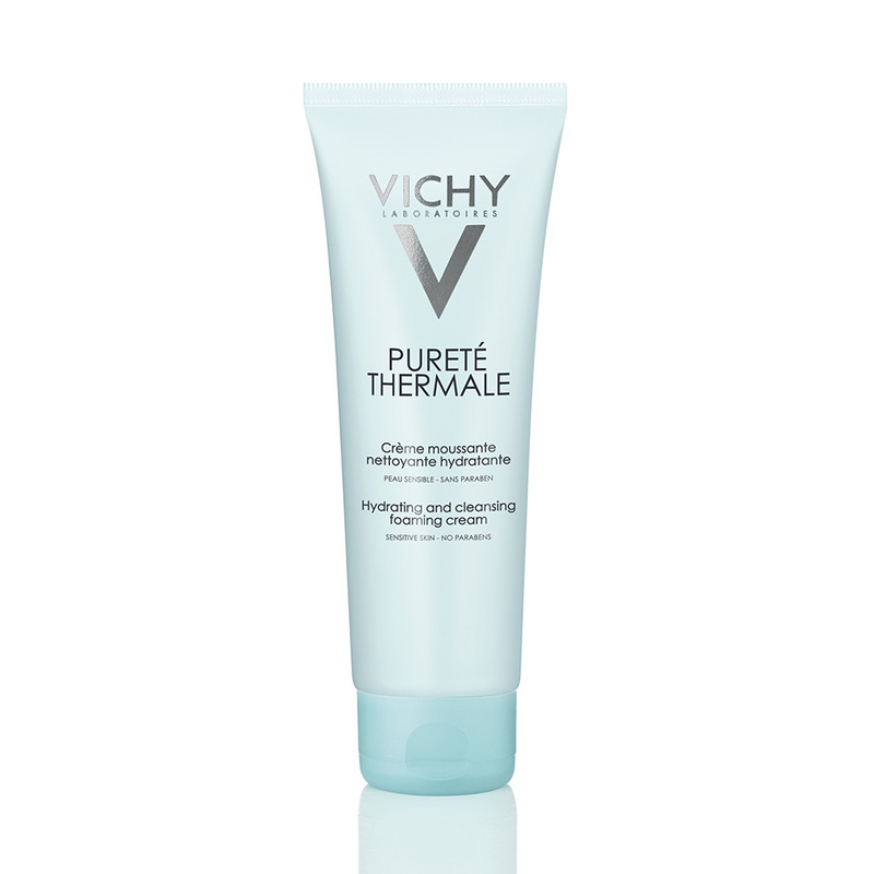 Vichy Purete Thermale Hydrating and Cleansing Foaming Cream,125ml