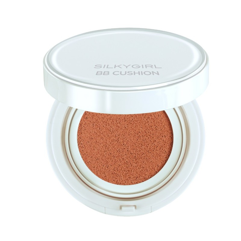 SilkyGirl Magic Bb Cushion - 03 Rose Beige 15ml