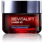 L'Oreal Paris Revitalift Laser X3 New Skin Anti-Aging Night Cream-Mask 50mL