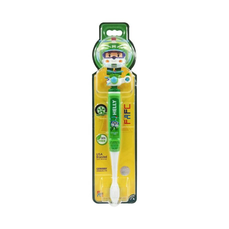 FAFC Robocar Poli Kids Toothbrush - Helly Figurine