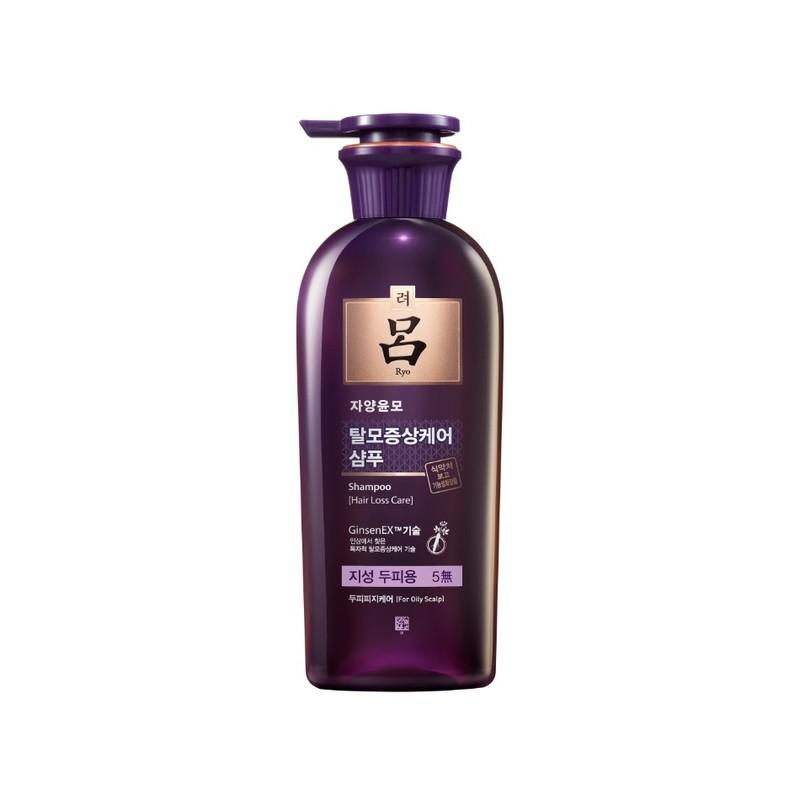 Ryo Hair Loss Oily Scalp Shampoo, 400ml
