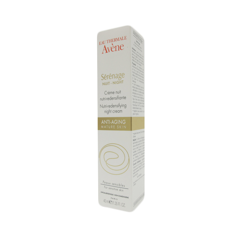 Avene Serenage Nutri-Redensifying Night Cream, 40ml