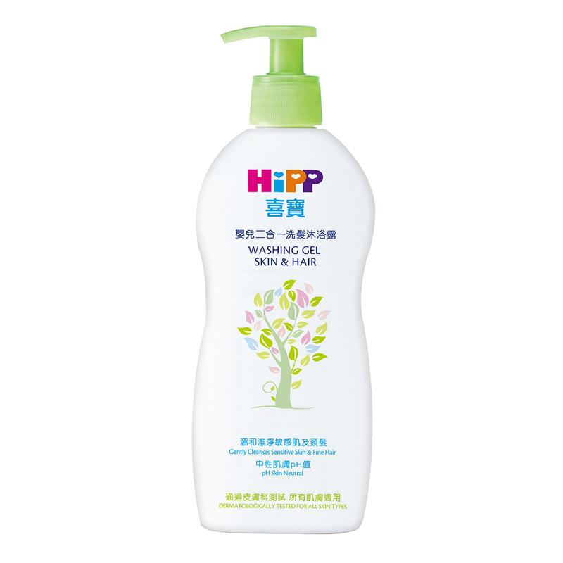 HiPP Washing Gel Skin&Hair 400mL