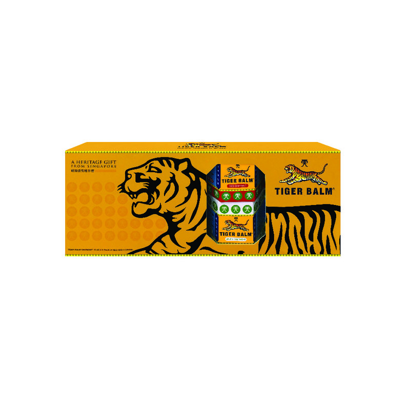 Tiger Balm Ointment Assortment, 8x19.4g
