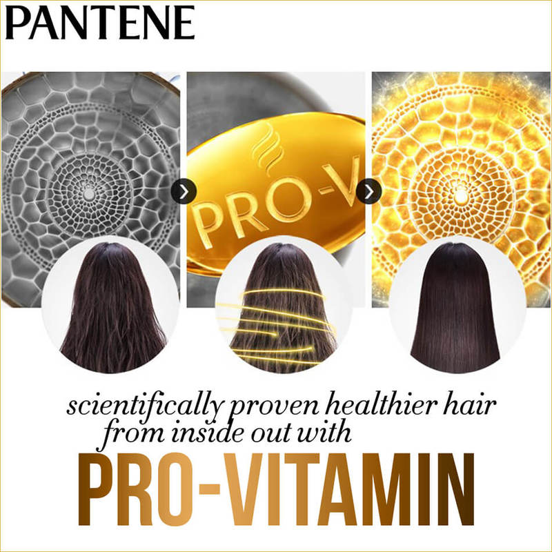 Pantene Aqua Pure Shampoo, 750ml