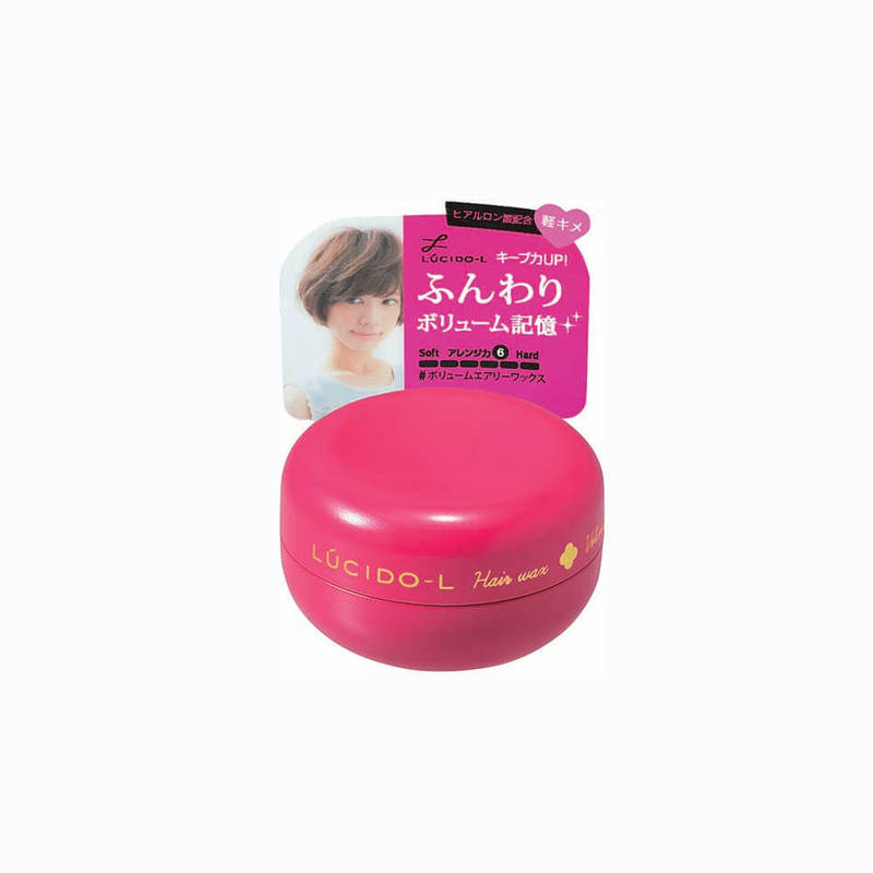 Lucido-L Non-Sticky Volume Airy Wax, 20g