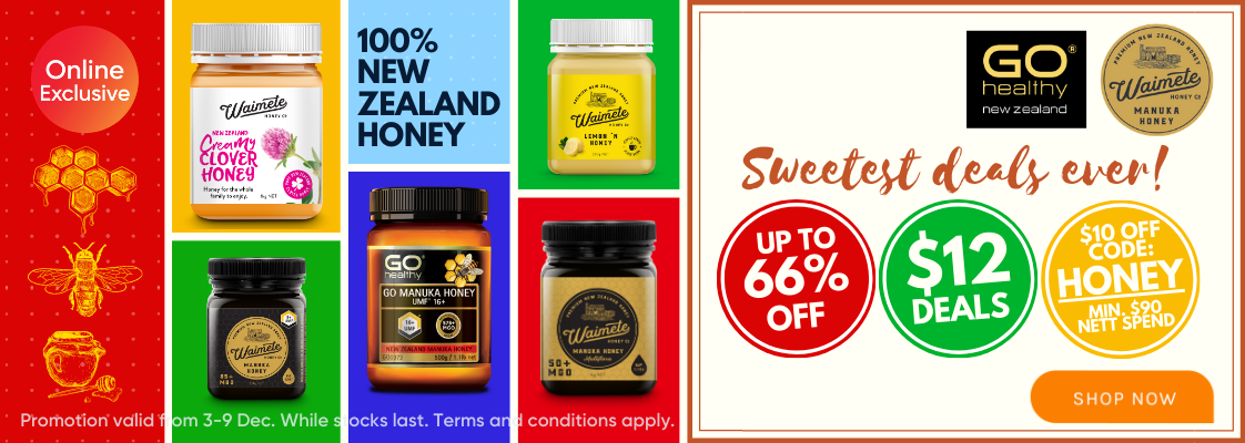 Honey Brand Week - 3 to 9 Dec