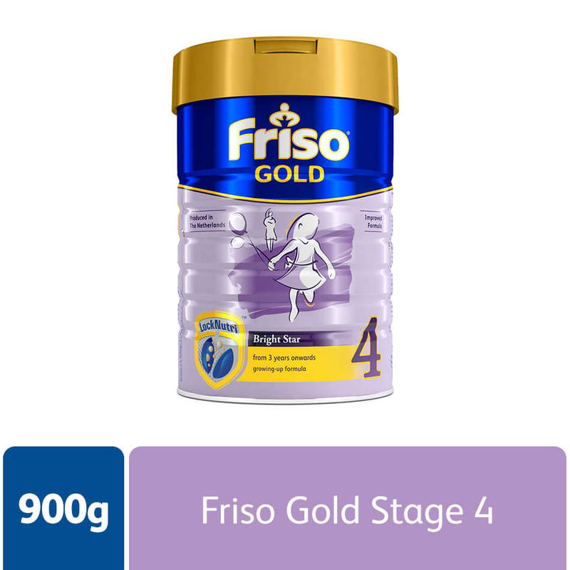 Friso Gold Stage 4, 900g