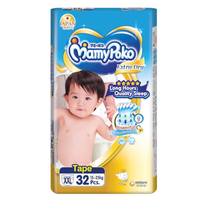 Mamy Poko Extra Dry Tape XXL32