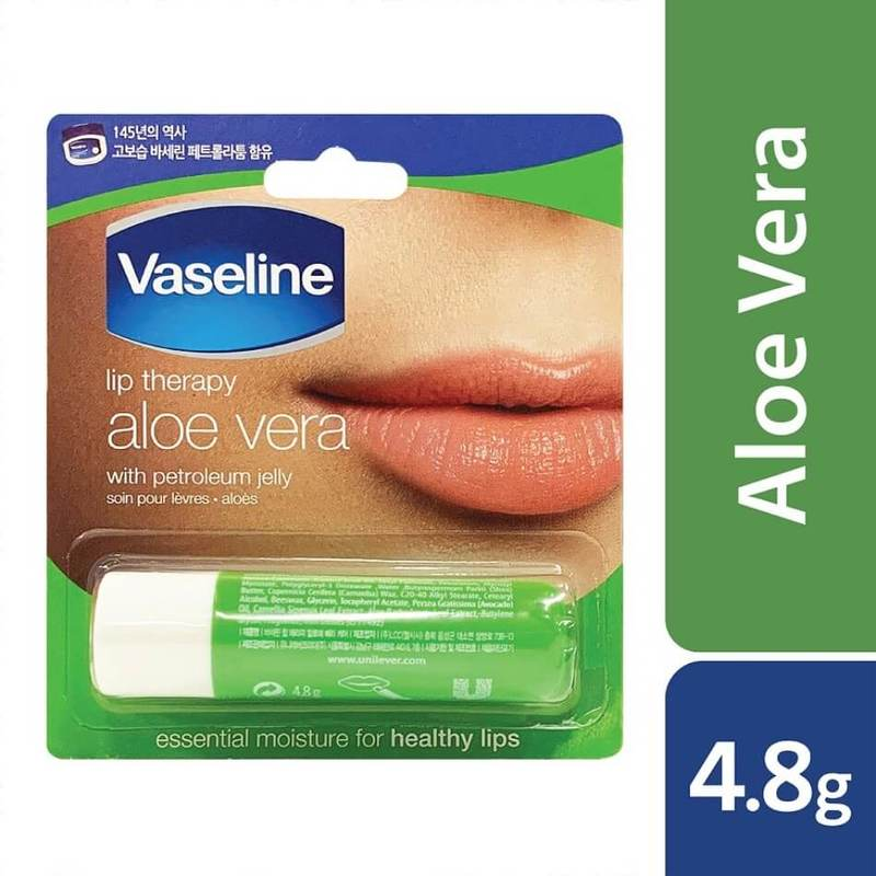 Vaseline Lip Therapy Aloe Vera Stick, 4.8g