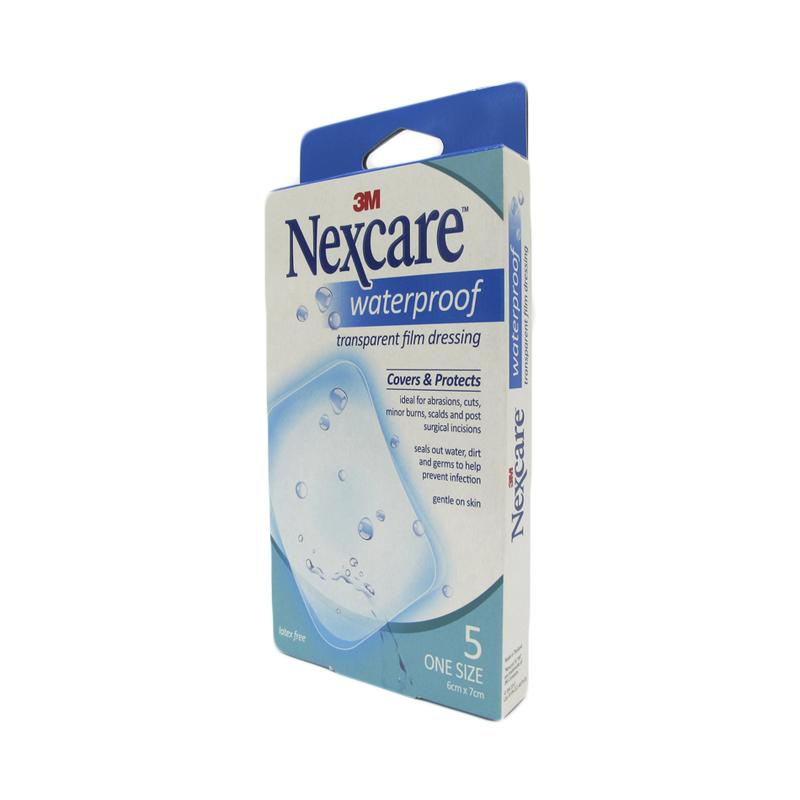 Nexcare WP Transparent Dressing 6x7cm, 5pcs