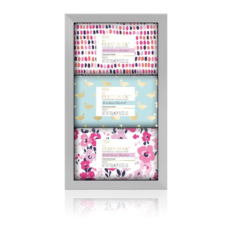 Baylis & Harding Fuzzy Duck Cotswold Floral 3 Soap Set