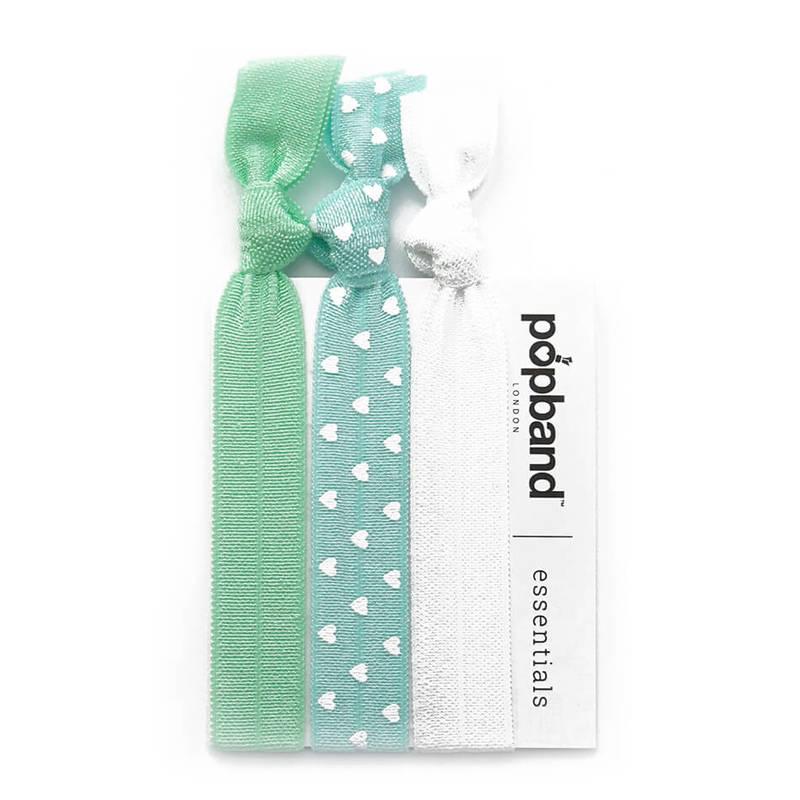 Popband London  Popband Essentials Mint Hair Tie 3S