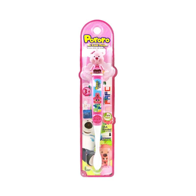 FAFC Pororo Kids Toothbrush - Loopy Figurine