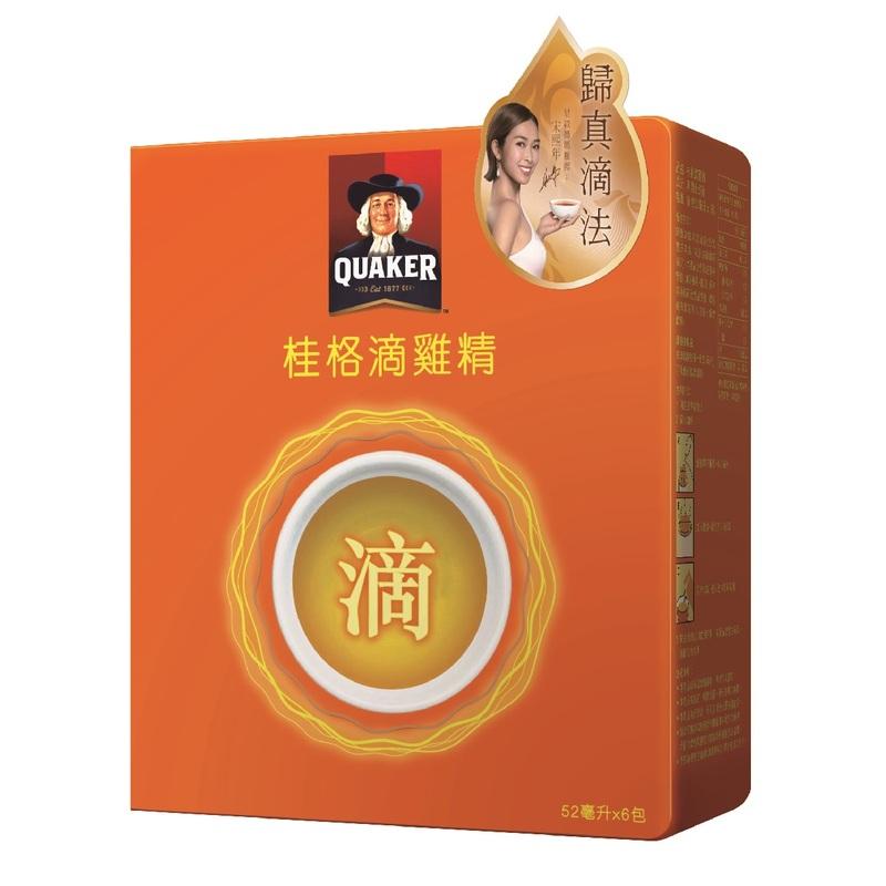Quaker Drip Essence of Chicken 52mLx6bags