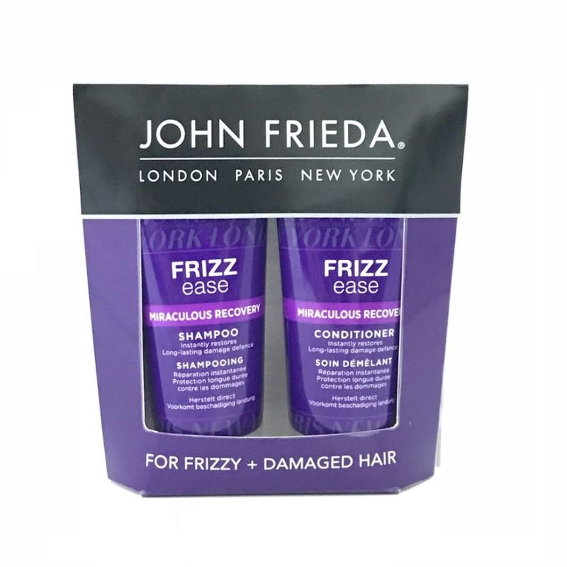 John Frieda Frizz Ease Miraculous Recovery Shampoo & Conditioner, 50ml