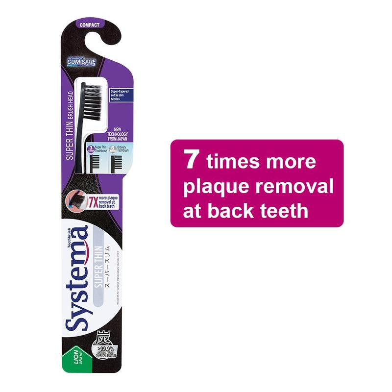 Systema Super Thin Toothbrush - Compact 1s
