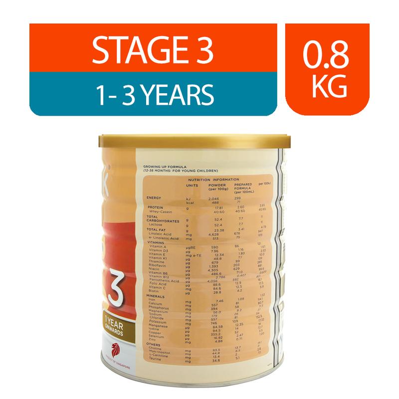 EinMilk Formula Milk Stage 3 (12M+), 800g