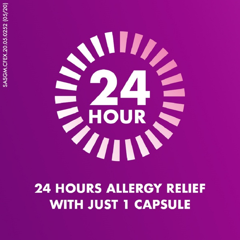 Telfast Fast And Non-Drowsy Allergy Relief 120Mg Tablet 10s