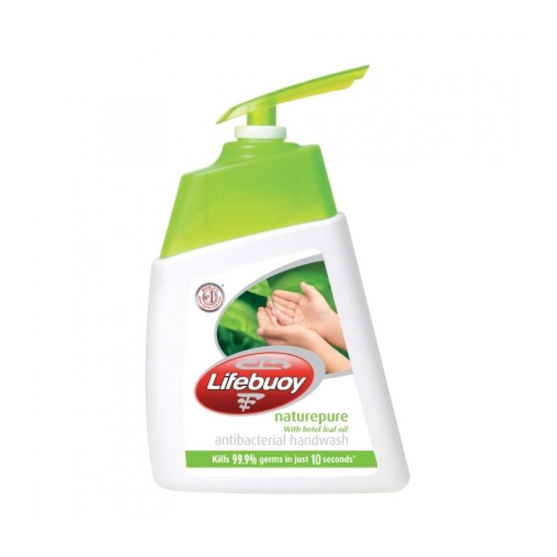 Lifebuoy Hand Wash Nature Pure, 200ml