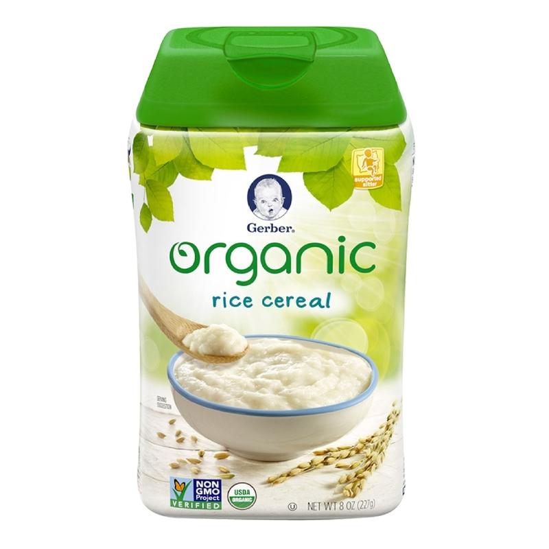Gerber Organic Rice Cereal, 227g