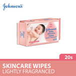 Johnson's Baby Wipes Travel Pack, 20pcs