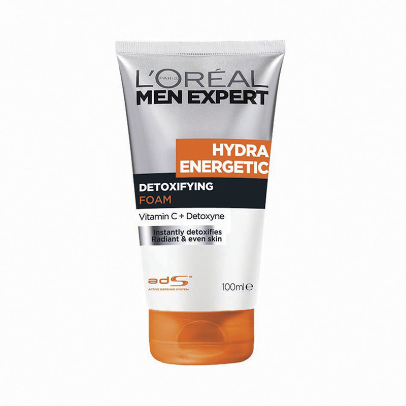 L'Oreal Men Expert Hydra Energetic Detoxifying Cleansing Foam, 100ml
