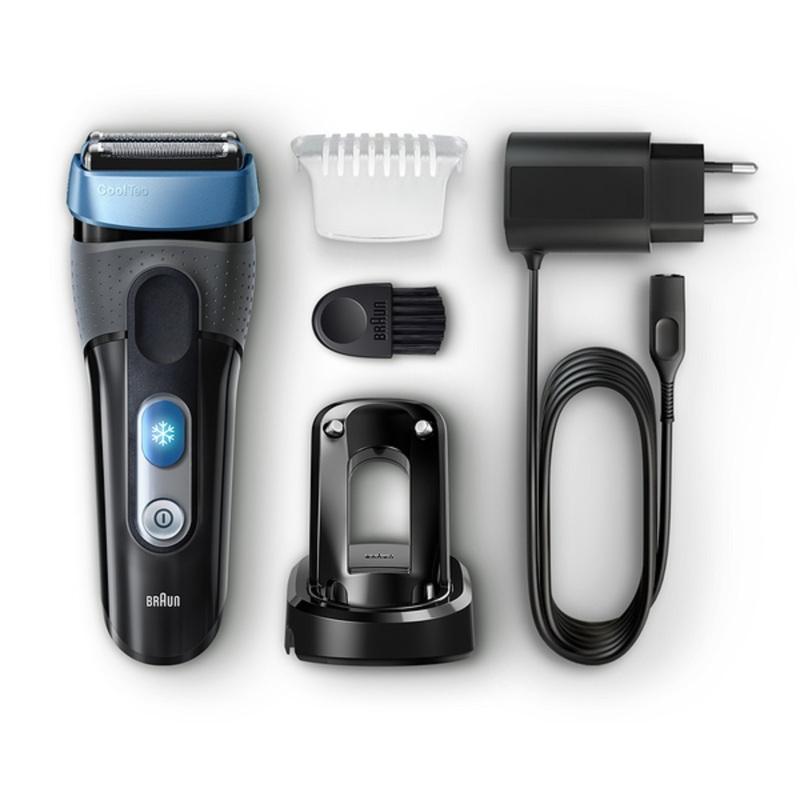 Braun Shaver CT2S BLK/BLU Box