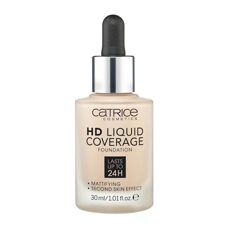 Catrice HD Liquid Coverage Foundation 010, 30ml