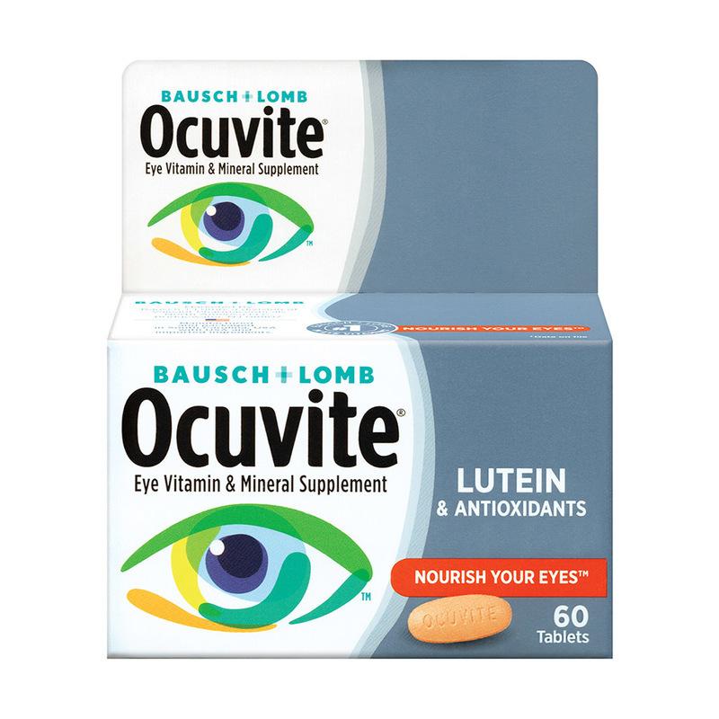 Bausch & Lomb Ocuvite Lutein, 60pcs