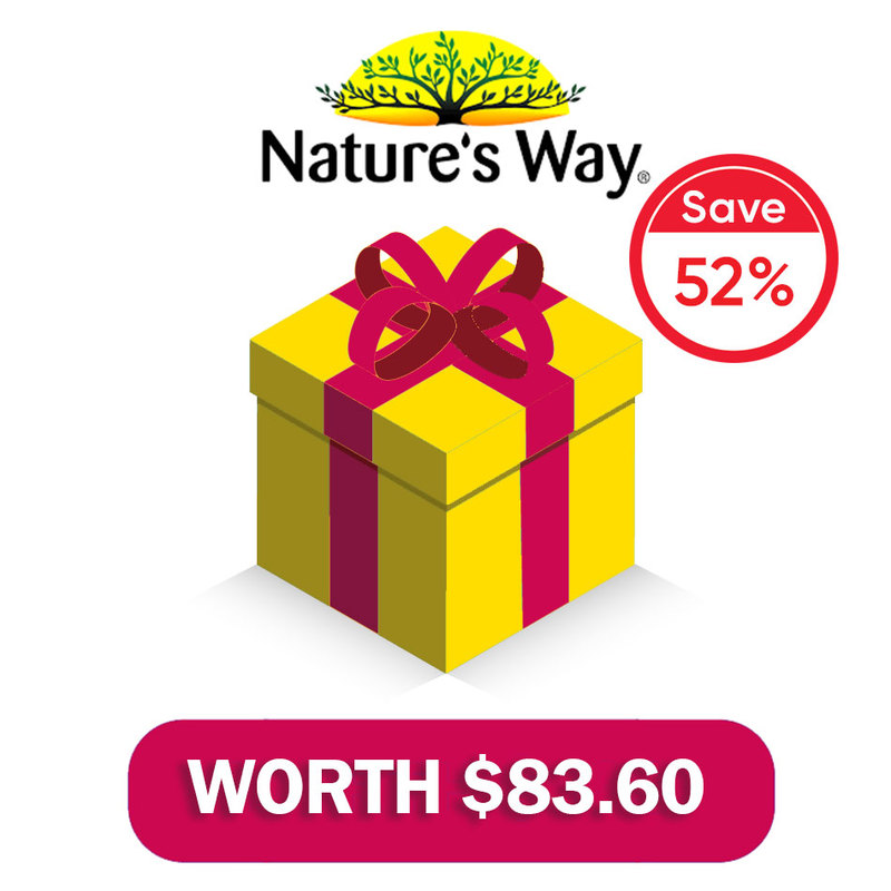 Nature's Way Kids Gummies Brand Box worth $83.60