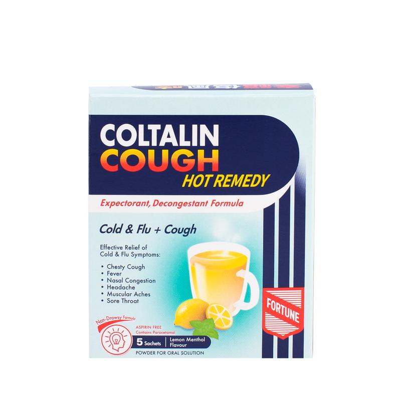 Fortune Coltalin Cough Hot Remedy 5pcs