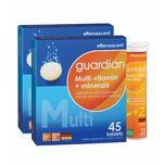 Guardian Multi-Vitamin + Minerals with Vitamin C 1000mg + Zinc 10mg Effervescent Bundle