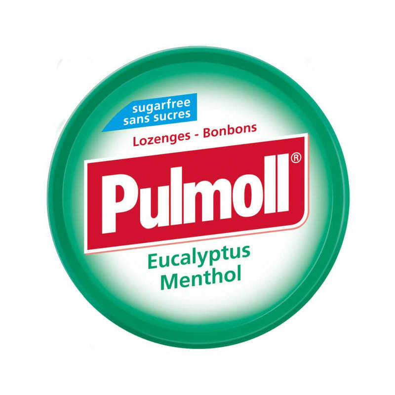 Pulmoll Lozenges Eucalyptus Menthol, 45g
