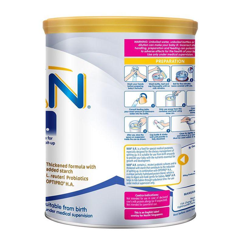 Nestle NAN A.R. Special Infant Formula 400g